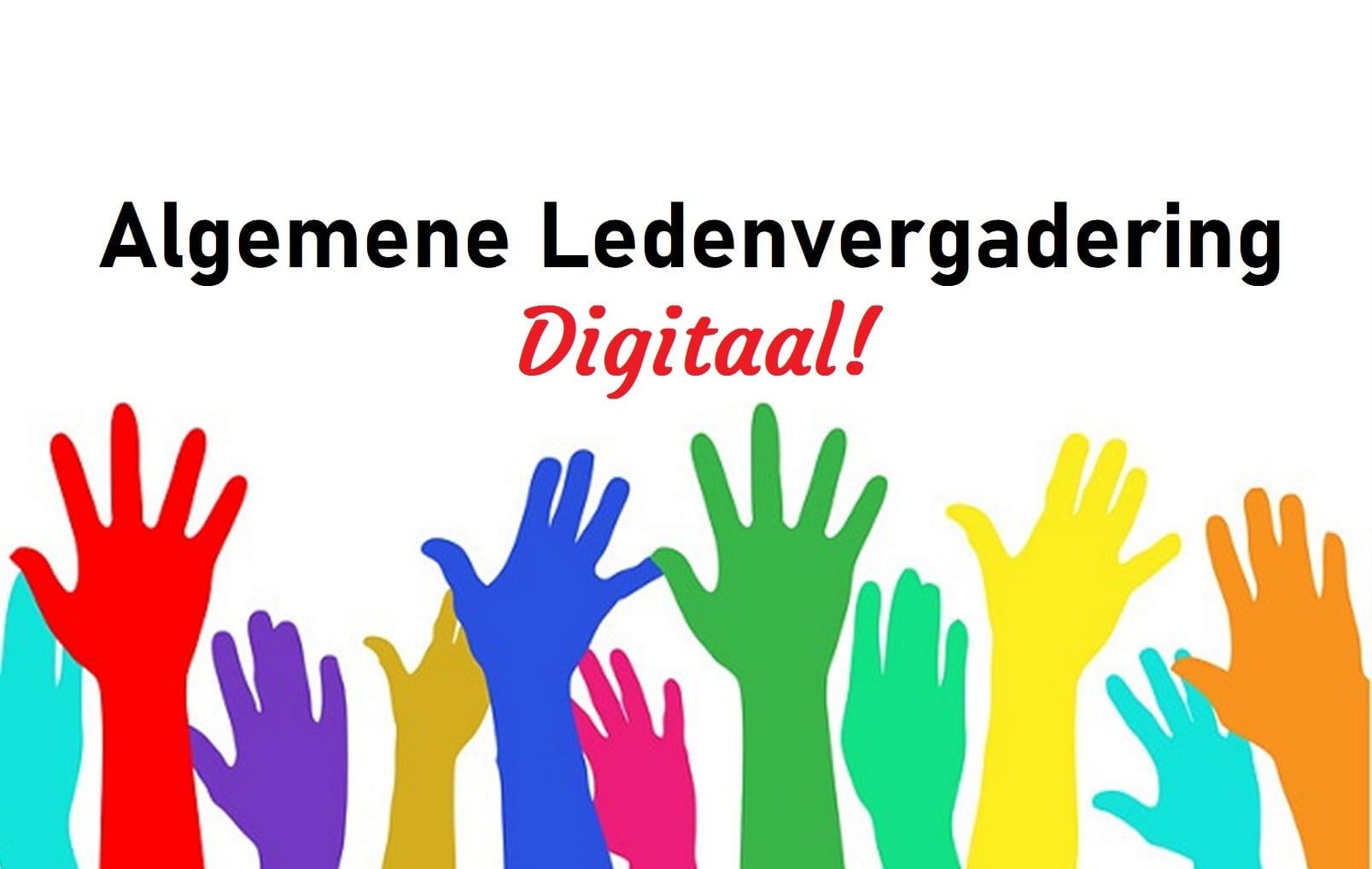 Uitnodiging digitale Algemene (Leden) Vergadering 28 juni 2021