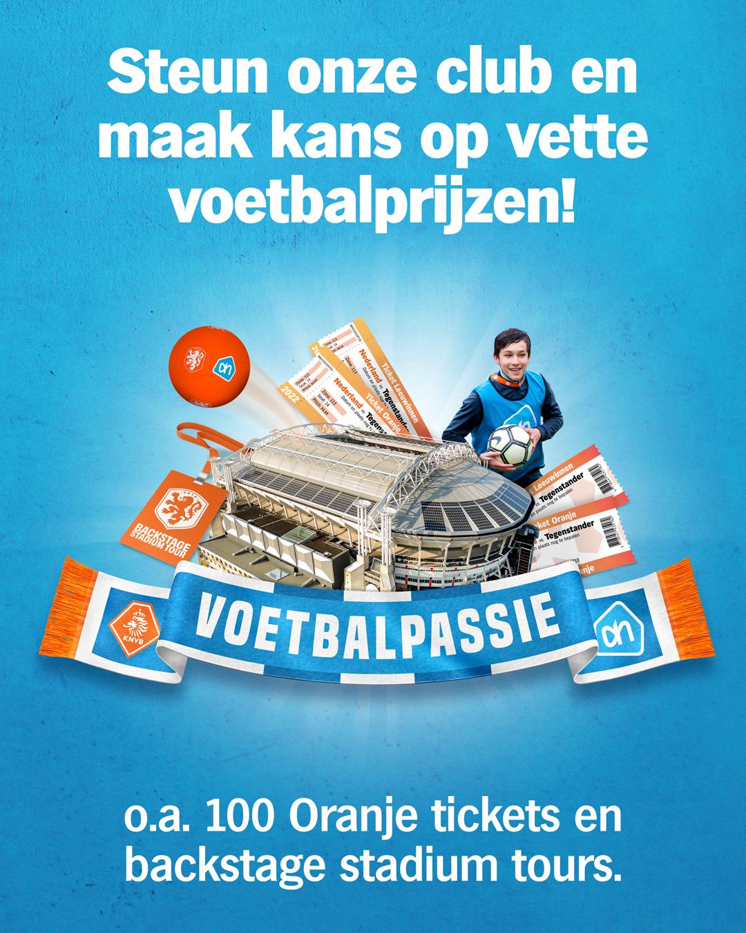 Spaar mee met Voetbalpassie van Albert Heijn!