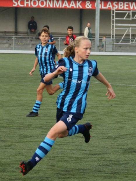 Esmée Veerman (JO13-1) naar de volgende stage ronde KNVB future.