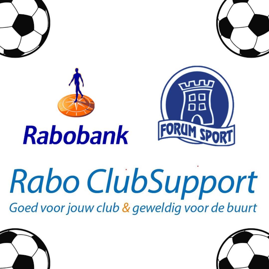 Stem voor Forum Sport bij Rabo ClubSupport