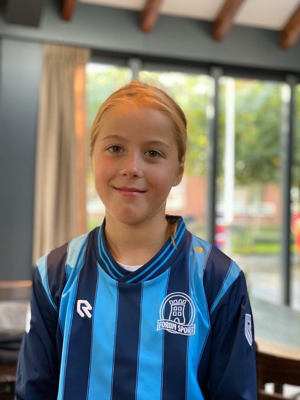 Yfke Korthals Altes  pupil van de week Forum Sport Vrouwen 1